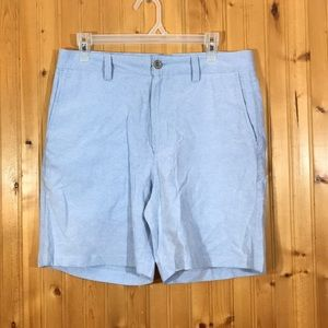 NWT Buffalo Jackson Flat Front Blue Cotton Shorts